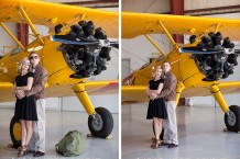 KM Photo Studio, Dallas Engagement Photographer, Plano Engagement Photographer, Addison Engagement Photographer, Richardson Engagement Photographer, Frisco Engagement Photographer, Vintage Airplane Engagement Session, World War II Styled Session