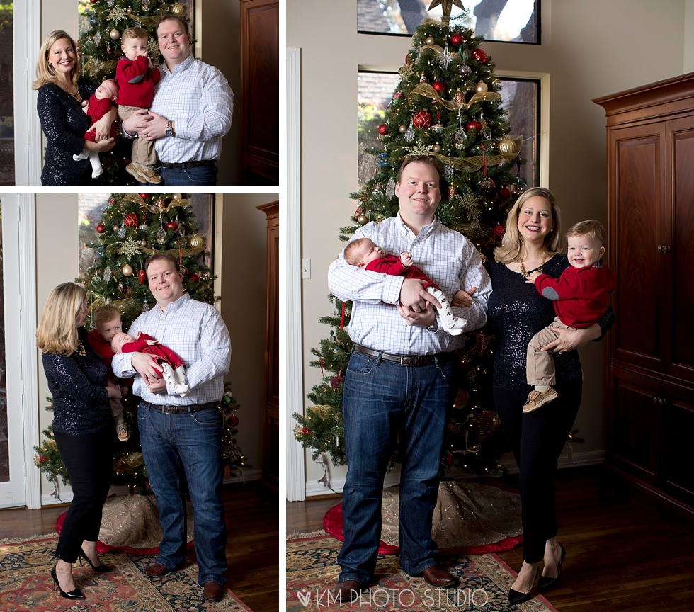 Dallas Holiday Photographer, KM Photo Studio, Dallas Family Photographer