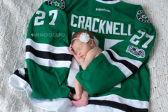 Dallas Newborn Photographer, KM Photo Studio, Dallas Stars, Dallas Stars Hockey, Cracknell