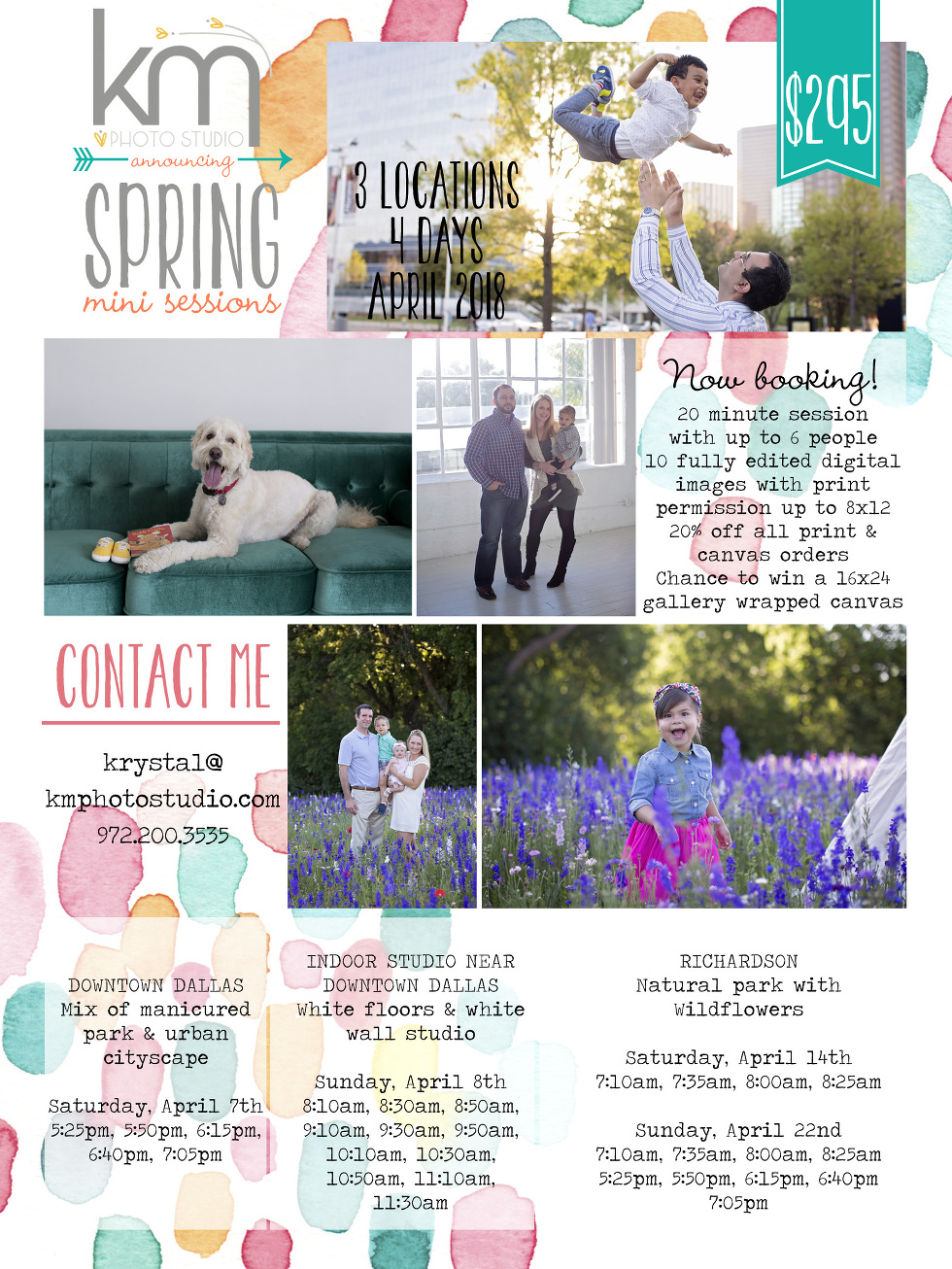 Dallas Spring Mini Session 2018, Dallas Mini Session 2018, Spring Mini 2018, Richardson Mini Session 2018, Plano Mini Session 2018, KM Photo Studio, Best Family Photographer Dallas